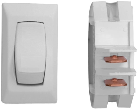 Valterra B1-10UC On/Off Rocker Switch - White