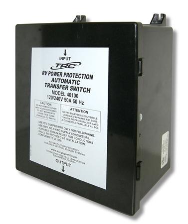 Surge Guard 40100 Basic 50 Amp Automatic Transfer Switch