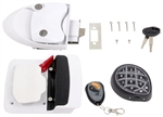Mobile Outfitters RVLock Keyless RV Door Lock White