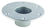 AP Products Round Flush Mount Table Leg Base