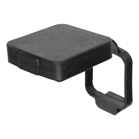 Curt 21728 Rubber Receiver Tube Cover - Black - 2""
