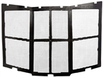 Maxxair 00-955202 Fanmate Vent Cover Bug Screen - Black