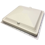 "Heng's 90008-C1 15"" x 22"" Escape Hatch Lid - White"