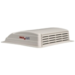 Maxxair 00-003801 Mini Vent Plus RV Roof Vent - White