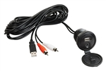 "Jensen USB Interface and 1/8"" Auxiliary Input Jack"
