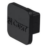 Curt 22271 Rubber Receiver Tube Cover - Black - 1 1/4""