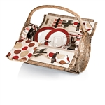 Picnic Time Barrel Picnic Basket - Moka Collection