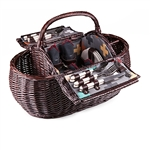Picnic Time Gondola Picnic Basket - Pixels Collection