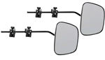 Dometic DM-2912 Milenco Grand Aero3 Clamp-On Towing Mirrors