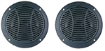 "PQN Enterprises RV610-4BK Waterproof 6"" RV Speaker - 2 Pack"