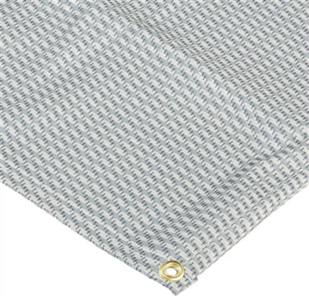 Carefree 181271 Dura-Mat RV Patio Rug - Gray - 12' x 8'