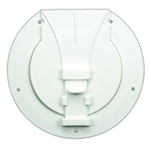 JR Products S-25-10-A Awning Pole Storage Hatch, Polar White
