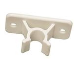 RV Designer E244 Entry Door Holder Clip, Colonial White, 3""