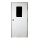 "AP Products 015-217719 Polar White 28 x 72"" Square RV Entry Door"