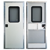 "AP Products 015-247011 Off White 24 x 70"" Square RV Entry Door"