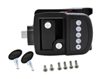 Bauer 013-509 NE Electric RV Keyless Door Lock - Right Hand