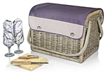 Picnic Time Kabrio Wine and Cheese Basket - Aviano Collection