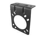 Waytek 37605 Black Epoxy Coated Connector Bracket For 7 Pin Sockets