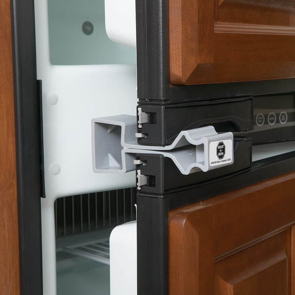 Adjust A Brush Prod402 No Mold Rv Refrigerator Door Holder