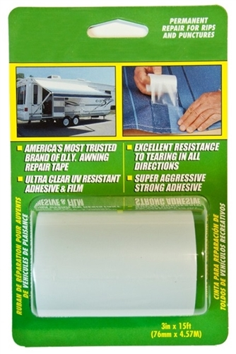 "InCom RE3848 RV Awning Repair Tape - 3"" x 15'"