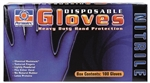 Permatex 09186 Heavy Duty Nitrile Disposable Gloves