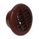 Valterra A10-3352VP Air Vent With Damper - Walnut - 4""