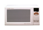 SHARP R820BW 900W Convection Microwave White