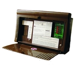 WFCO WF-8712-P Power Center 12 Amp Brown