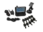 TST TST-507-FT-10 Flow Through Sensor Tire Pressure Monitoring System - Black & White - 10 Pack