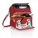 Picnic Time Pranzo Lunch Tote - Red