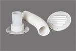 MTS Products 276 Battery Box Vent Accessory Kit, White
