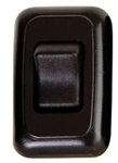 Diamond Group A-3115 Single Contoured On/Off Switch - Black