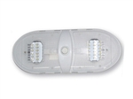 Diamond Group 65430-WW Slim Line Double Dome LED Light Warm White 3500K