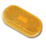 Peterson V128A Oblong Amber Side Marker Light