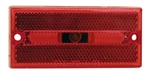 Peterson V132R Rectangular Red Side Marker Light