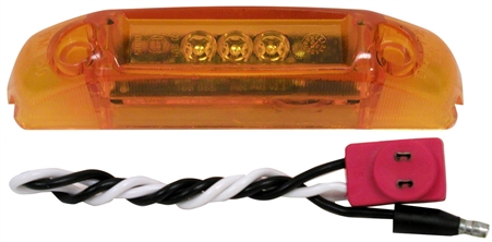 Peterson V160KA Clearance/Side Marker Light Kit - Amber