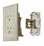 ODYSSEY GROUP WDR15IV Ivory Receptacle