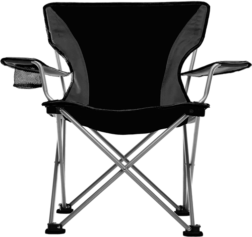 Travel Chair 589V-BLACK Easy Rider Camping Chair - Black