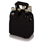 Picnic Time Six Pack Beverage Carrier - Black