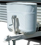 Adco 2113 Polar White LP Tank Cover, 30 lb. Double