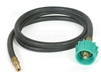 The Camco Propane Pigtail Connector Hose 24""