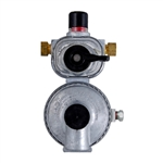 "2 Stage Auto Changeover Regulator 1/4"" Inv. Flare x 3/8"" FPT"