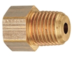 "MB Sturgis 1/4"" Female Inverted Flare x 1/4"" Male NPT Adapter"