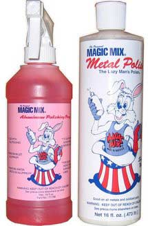Magic Mix Metal Polish kit