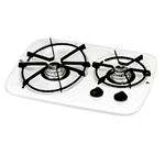 Atwood 56492 White 2 Burner Wedgewood Vision Drop-In Cooktop