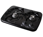 Atwood 56493 Black 2 Burner Wedgewood Vision Drop-In Cooktop