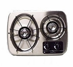 Atwood 56494 Stainless Steel 2 Burner Wedgewood Vision Drop-In Cooktop