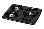 Atwood 56471 Black 3 Burner Wedgewood Vision Drop-In Cooktop