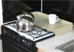Camco 43559 Almond Stove Top Cover