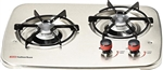 Suburban 2 Burner, Drop-In Cooktop - Stainless Steel